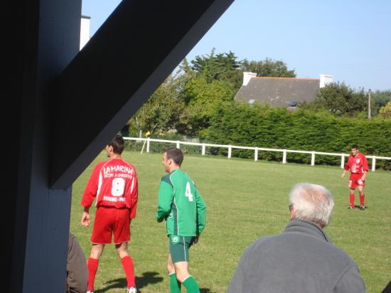 match amical de la B contre Fc Porzay