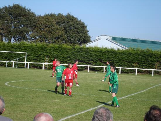 match amical de la B contre Fc Porzay