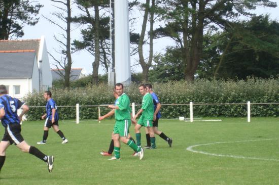 match de la B contre Goulien B