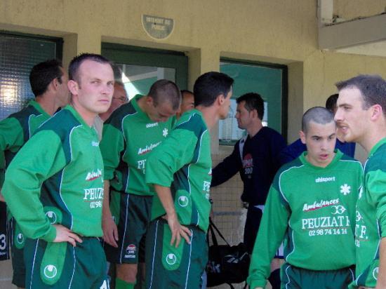 avant le match contre Guengat