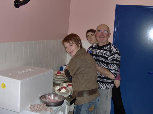 Paul et ses femmes en cuisine