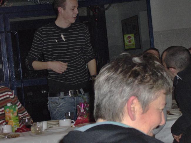 Guillaume l'animateur de la soirée